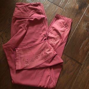 Maroon workout pants